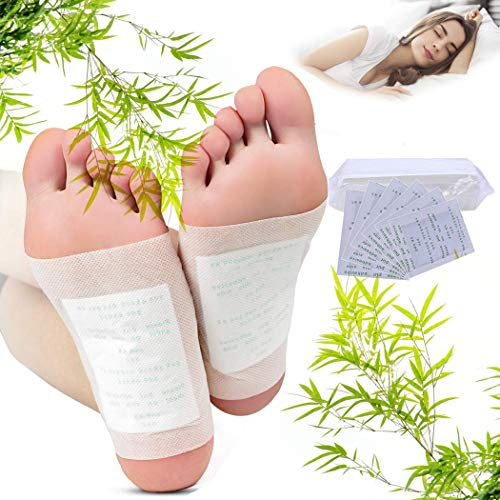 Foot Patches. Kapmore 80Pcs Detox Foot Pads, for Pain Relief & Stress Relief & Deep Sleep & Detox Cleanse Weight Loss, Enhance Blood Circulation