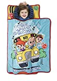 CoComelon Kids Nap Mat Set – Includes Pillow and Fleece Blanket – Great for Girls Napping During Daycare, Preschool, or Kindergarten - Fits Toddlers and Young Children