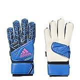 adidas Guantes de Portero Ace Fingersave Replique fútbol - AZ3685, Negro, Azul, Rosado (Blue/Black/Pink)