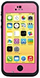 HESGI New Waterproof Shockproof Dirtproof Snowproof Protection Case Cover Only for Apple iPhone 5C Pink