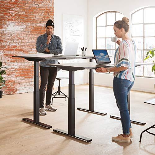 boho office® EASYDESK Line elektrisch stufenlos höhenverstellbarer Tischgestell. Made and designed in Denmark 4