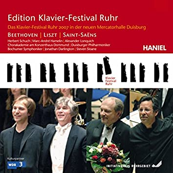 Beethoven & Liszt & Saint-Saens: Duisburg New Mercator Hall (Edition Ruhr Piano Festival, Vol. 18)