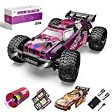 2021 Upgraded 1:10 Brushless High-Speed RC Car: The newly designed 200E high-speed RC car in 2021 is equipped with a professional 45A brushless sensorless ESC and a 2845 brushless motor. With the help of dual heat sinks, its performance can be maximi...