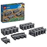 LEGO60205CityVíasJuguetedeConstruccióncon8TramosdeVíaRectos,4Curvosy8Flexibles