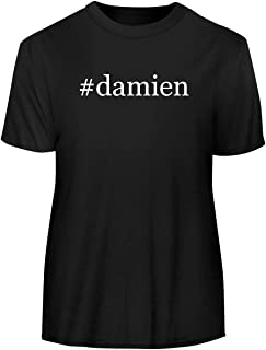 #Damien - Hashtag Men's Funny Soft Adult Tee T-Shirt