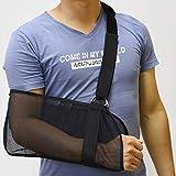 Breathable Mesh Arm Sling, Arm Sling Shoulder Immobilizer Rotator...