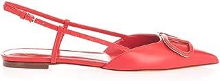 VALENTINO Luxury Fashion Womens TW2S0R02MZFJU5 Red Flats   Spring Summer 20