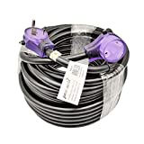 Parkworld RV 30A Extension Cord NEMA TT-30 with Handle, Camper 30amp TT-30P to TT-30R (75FT)