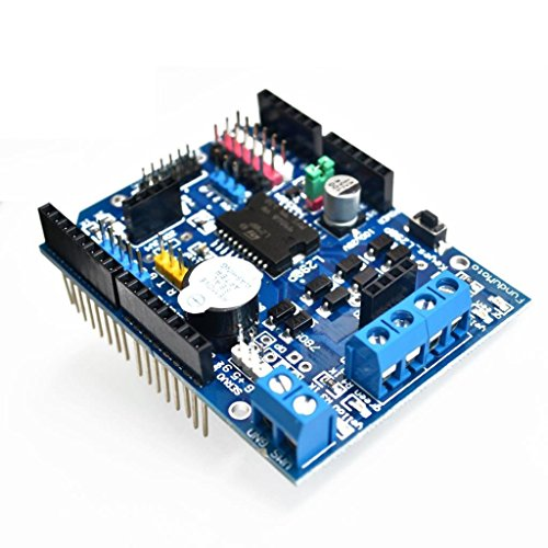 DollaTek L298P Motor Driver Module H-bridge Drive Shield Expansion Board High-Power DC Stepper Motor Controller For Arduino