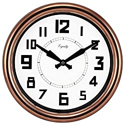 Equity by La Crosse 20821 12 Inch Copper Analog Wall Clock