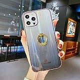 LIMITED Étui téléphone Support d'anneau Scintillement holographique Laser pour l'iPhone 12 Mini...