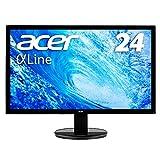 Acer モニター ディスプレイ AlphaLine 24インチ K242HLbid フルHD TN HDMI DVI D-Sub ブルーライト軽減 VESA対応