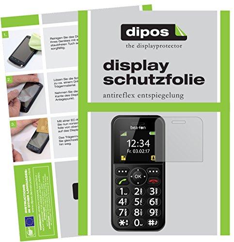 dipos I 6X Schutzfolie matt kompatibel mit bea-fon SL150 Folie Bildschirmschutzfolie