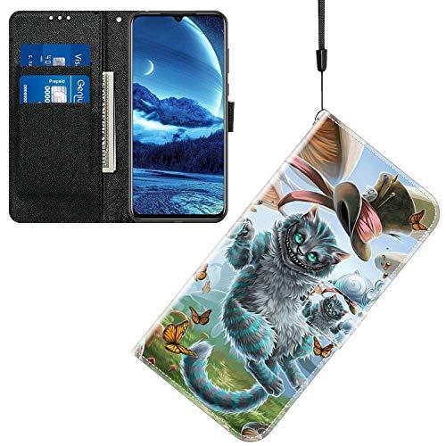 Jamitai Klapptasche für Handy Meizu M5 Hülle Leder Handytasche Handyhülle Brieftasche Hüllen Hülle mit Kartenfach & Ständer/ZMT01P-0H
