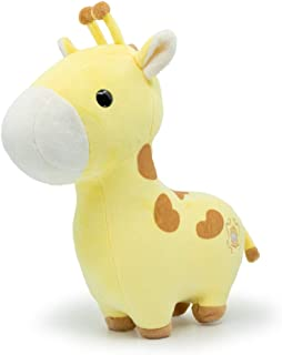 Bellzi Yellow Giraffe Cute Stuffed Animal Plush Toy - Adorable Soft Giraffe Toy Plushies and Gifts - Perfect Present for Kids, Babies, Toddlers - Giraffi