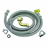 Watts D60U Universal Dishwasher Kit with 3/4-Inch FGH EL, Stainless Steel, 60-Inch