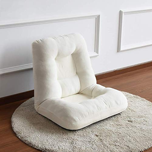 NBVCX Decoración de Muebles Tatami Plegable Dormitorio Individual sofá pequeño Linda Chica Ventana de bahía Cama multifunción Perezoso (9 Colores Opcionales) (Color: E)