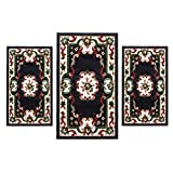 CARILLO - Juego de cama de 3 piezas de alfombras chinas para jardín 2038 P427