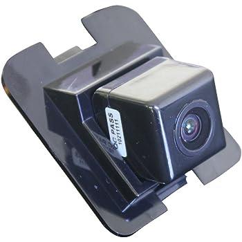 HDMEU 170/° Affichage Direction Cam/éra Route Invers/ée Volant en Mouvement Vue Arri/ère Syst/ème Surveillance Du Stationnement Recul Vision Nocturne CCD pour GLK Class S500//S600//X204//W204//S204//W212//W221