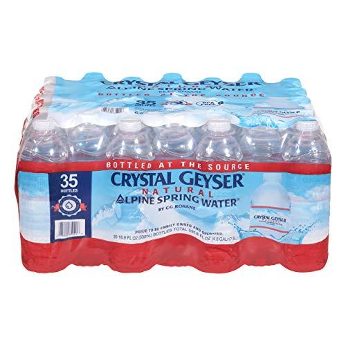 Alpine Spring Water, 35 Bottles per case, 16.9oz Bottles, Bottled at the Source (075140350018)