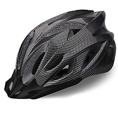 iWUNTONG Adult Bike Helmet, Bicycle Helmet with Detachable Visor,Specialized Road Helmet for Mens Womens with Adjustable Size,Climbing Lightweight Helmet Cycling Helmet with CPSC/CE Certified