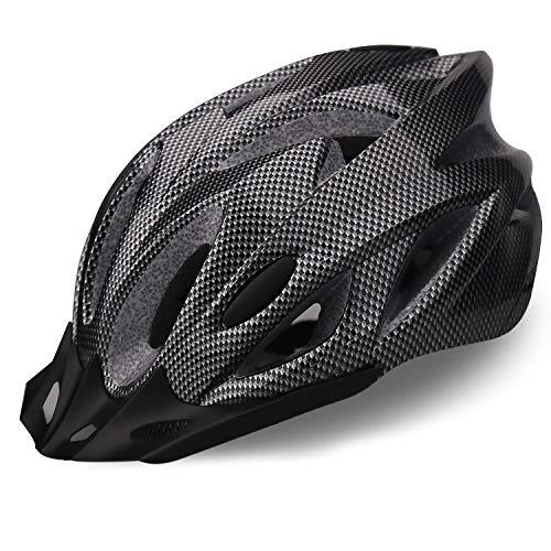 iWUNTONG Fahrradhelm für Erwachsene, CE-zertifizierter Fahrradhelm, spezialisiert für Herren mit abnehmbarem Visier, Fahrradhelm für Rennräder mit Einstellbarer...