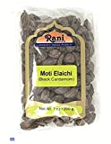 Rani Black Cardamom Pods (Kali Elachi) Whole Dried Indian Spice 7oz (200g) ~ Natural | Vegan | Gluten Free Ingredients | NON-GMO | Indian Origin ~ Smokey | Tsaoko | Cao Guo | Bach Dan Khau | Badi