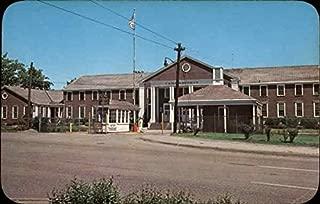 Entrance to Camp Moffett, Recruit Training Command Great Lakes, Illinois Original Vintage Postcard