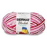 Bernat Blanket Bright Yarn, Raspberry Ribbon Varg