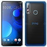 cofi1453® Silikon Hülle Basic kompatibel mit HTC Desire 19+ Plus Hülle TPU Soft Handy Cover Schutz Transparent