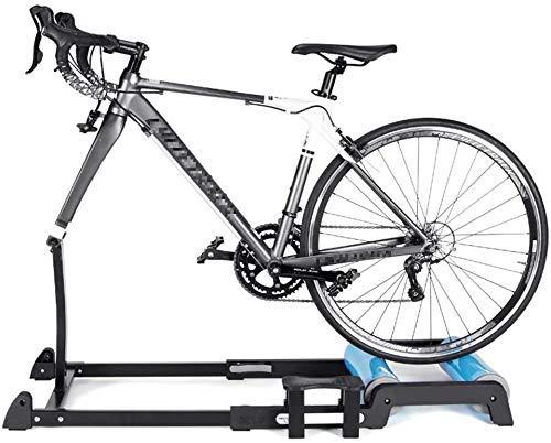 MRWW Apoyo técnico portátil para Bicicletas, de aleación de Aluminio autocar Pedales de la Bicicleta Plegable internos de Rodadura estacionario para la Bicicleta estática años
