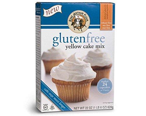 King Arthur Flour Gluten Free Yellow Cake Mix (3x22oz)