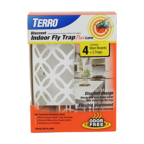 Terro T550 Discreet Indoor Fly Trap Plus Lure, Plain