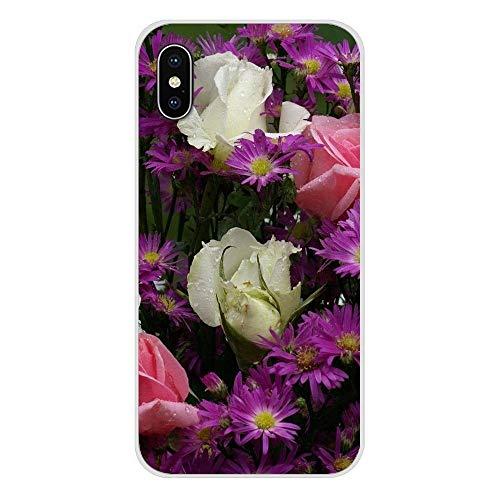 Tizorax - Esterilla de yoga respetuosa con el medio ambiente, con hojas de palma y flores de orquídea, antideslizante, perfecta para yoga, pilates y fitness (80 x 183 x 0,8 cm)
