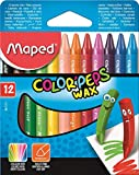 Maped M861011 - Wachsmalstifte Color Peps Wax