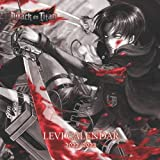 Attack On Titan Levi Calendar 2022/2023: Attack On Titan Calendar Based on LEVI Only, It's 8.5x8.5 inches calendar with 20 Months & 18 Posts.