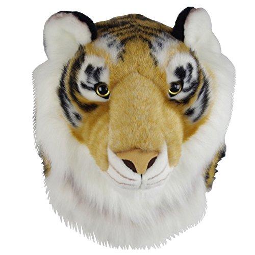 Plüschtrophäe Tigerkopf - naturgetreues Design-Sweety-Toys - Plüschtier Trophäe Tiger Plüsch