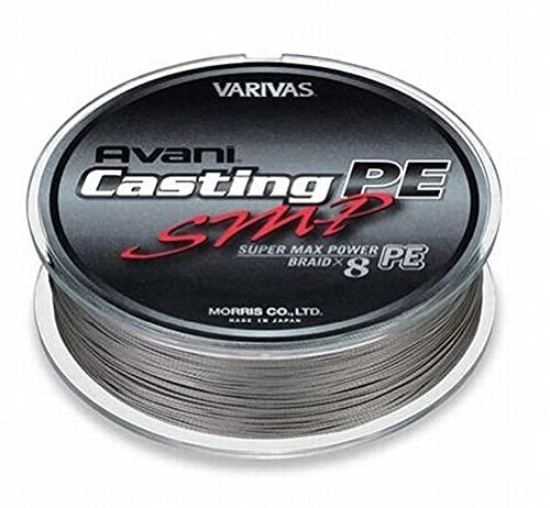 VARIVAS(バリバス) PEライン アバニ キャスティングPE スーパーマックスパワー 300m 5号 MAX80lb 8本 ステ...