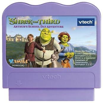 VTech - V.Smile - Shrek The Third  Arthur s School Day Adventure