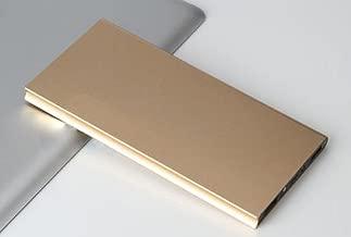TAVLAR Ultrathin 50000mAh Power Bank Dual USB Portable External Backup Battery Charger (Gold)