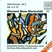 Giornovichi: Violin Concertos Vol. 3 - Nos. 6, 2, 10