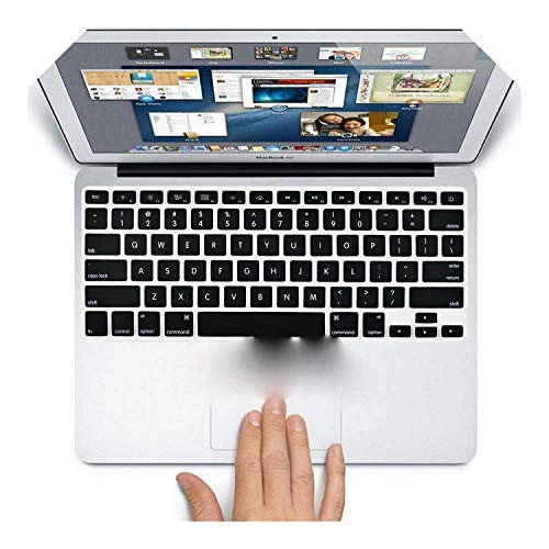 Fundas de teclado para ordenador portátil para MacBook Air 13 Pro de 15 pulgadas A1342 A1466 A1502 A1398 US cubierta de silicona para teclado de color negro