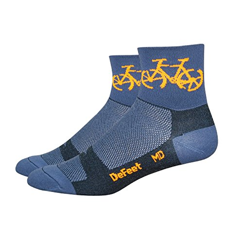 Defeet Aireator Townee Cycling/Running Socks, Small