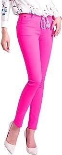 Demon&Hunter 822 Series Mujer Pantalones Vaqueros Elevar Curva Skinny