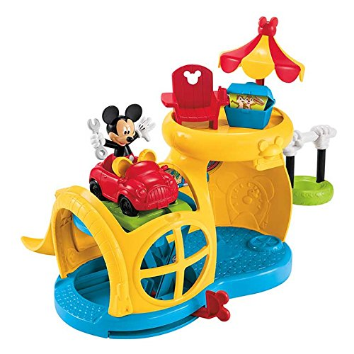 Fisher-Price La Casa De Mickey Mouse - Playset Garaje (