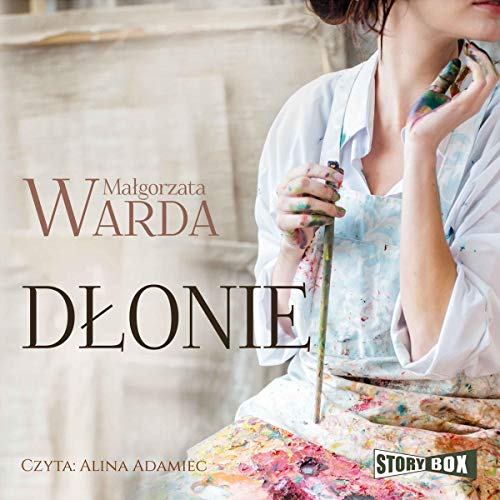 Dłonie audiobook cover art