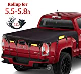 Coverify Truck Bed Cover for Short Bed (5.5'-5.8′ Box) Heavy...