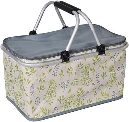 AYXN 30L Zusammenklappbare Isolierte Picknickkorb Große Kühltasche Für 3 3 3 Personen, Isolierung Picknicktasche, Isolierung Picknick-Box B07NJ7N6LX | 2019  559f77