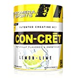 Promera Sports, CON-CRET Creatine HCl Powder, Micro-Dose Creatine, No Bloating, No Upset Stomach, No Water Retention, No Loading, Made in USA, Gluten-Free, Lemon Lime, 64 Servings