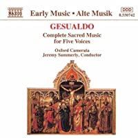 Gesualdo: Complete Sacred Music for Five Voices (1993-11-11)